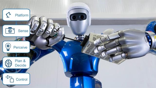 开发机器人及无人系统算法