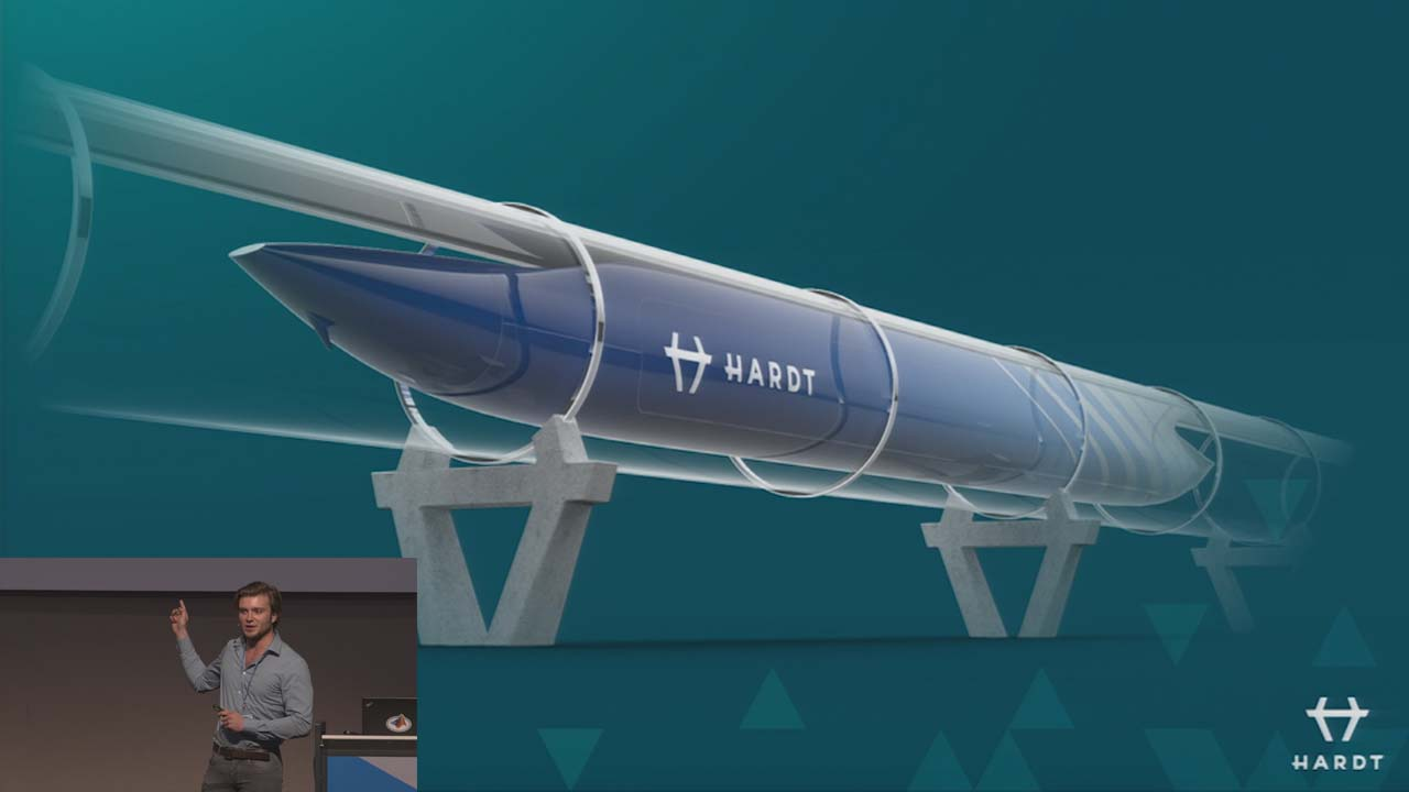 After winning the Overall Award in the SpaceX Hyperloop Pod Competition, Hardt continues to use MATLAB and Simulink to revolutionize transportation by developing and realizing the Hyperloop.