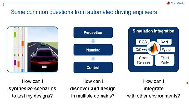 Learn about new capabilities in R2019a for automated driving feature development, including LIDAR processing, deep learning, path planning, sensor fusion, and control design.