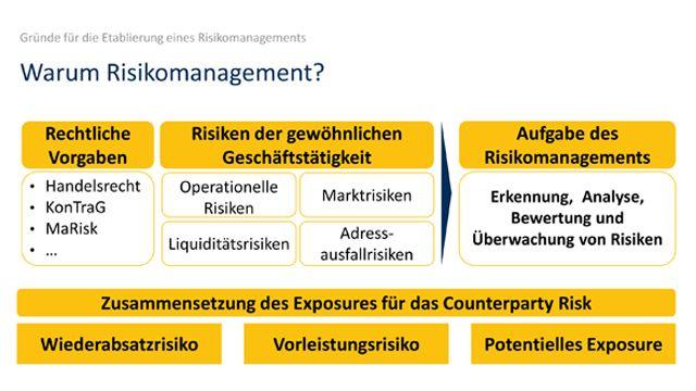 Einsatz von MATLAB Anwendungen im Risikomanagement eines Energieversorgers: Counterparty Risk Management