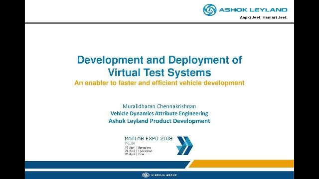 In this presentation, you will learn how this work resulted in lean and cost-efficient vehicle dynamics simulation, investigation of numerous combinations, and optimized design for one major running vehicle development program.