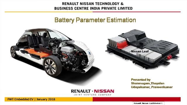 In this presentation, you will learn how the parameters of the batteries are identified for validating the BMS using experimental data from a test bench and a mathematical model of the battery packs.