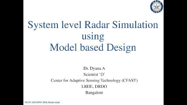 In this presentation, you will learn how simulation is used for the efficient design of phased array radar systems.