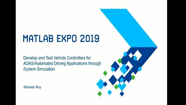 Learn how MATLAB and Simulink can be used to develop and test vehicle controllers for ADAS and Automated Driving Applications through System Simulation using MPC design techniques.
