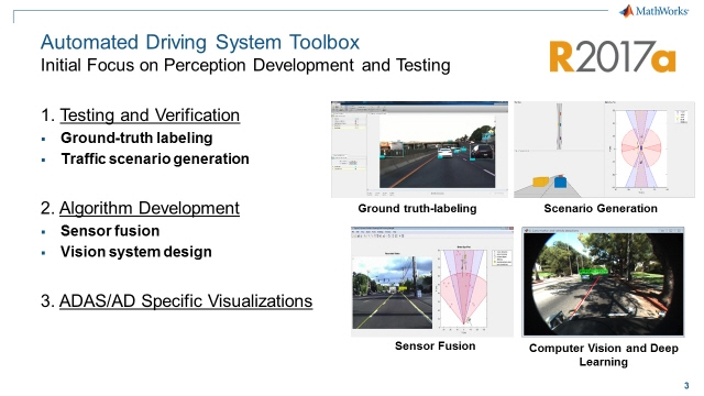 R2017a 출시Automated Driving System Toolbox™툴박스 소개