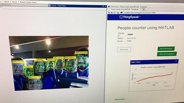 Creating a Cloud-Based People Counter Using MATLAB