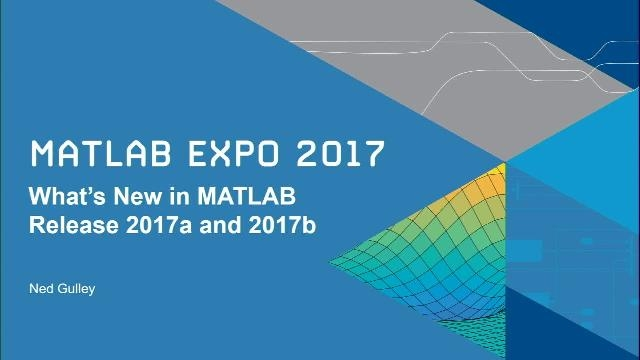 In this session, Ned Gulley introduces new capabilities in the MATLAB product family in releases 2017a and 2017b.