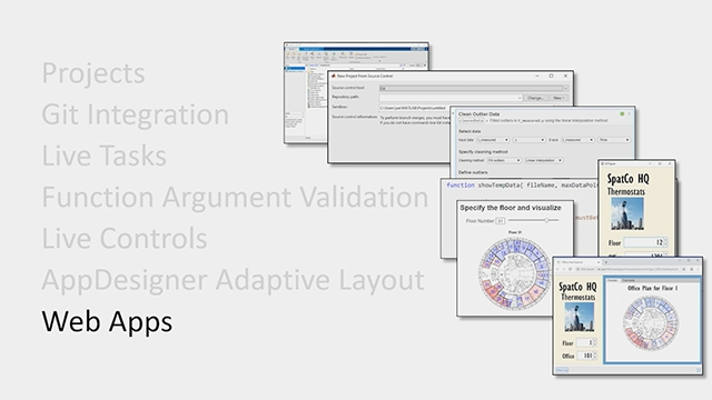 Learn about new capabilities in MATLAB product family in Releases 2019a and R2019b.